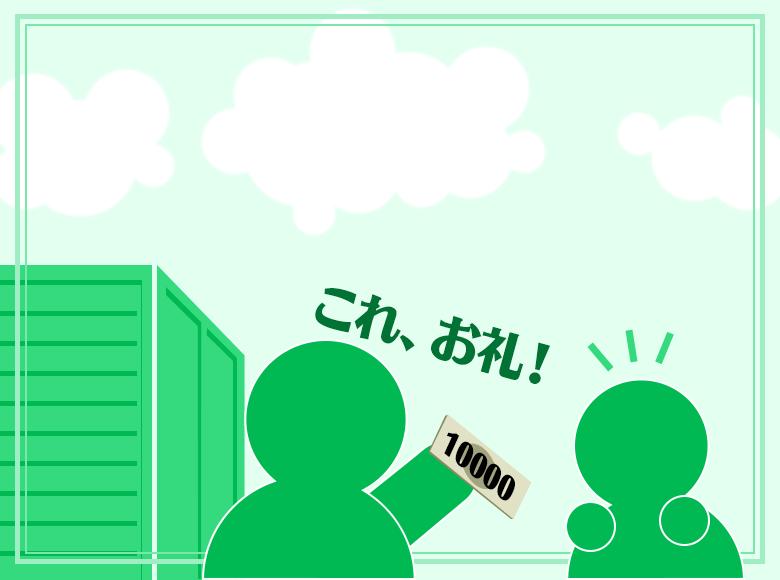 Q3.友人の引っ越しをお手伝いしました。謝礼として一万円をいただきました。その一万円はどうしますか?